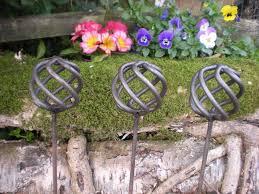 decorative garden stakes pavillion home designs decorative