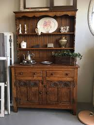 Kitchen Dish Cabinet Antique Farmhouse China Cabinet Best Home Furniture Decoration