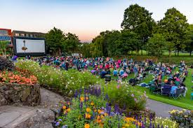 Botanical Gardens Open Air Cinema Outdoor Cinema Choices Revealed Following Vote