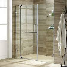 28 Shower Door Vigo Vg604248 28 3 4 X 72 Frameless Swing Shower Enclosure With