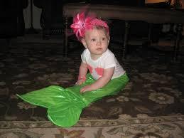 Halloween Costumes 7 Month Olds Baby Mermaid Costume Adventures Modern Ec Teacher