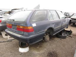 vintage honda accord junkyard find 1991 honda accord wagon the truth about cars