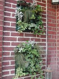 deco entree exterieur tableaux végétaux intérieurs et extérieurs lf ambiances et déco