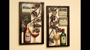 Ideas For Decorating Kitchen Walls Wine Kitchen Decor Ideas Youtube