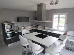 cuisine gris foncé réalisation cuisines couloir modele scala gris foncé mat