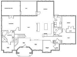 modern home floor plan modern contemporary floor plans homes zone