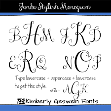 initial fonts for monogram new kg already home and janda stylish monogram fontabulous