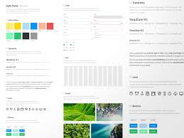 style guide template sketch freebie download free resource for