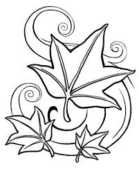 fall coloring page fablesfromthefriends com