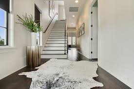 decorating decorating living room ideas using cowhide rug