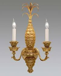 Pineapple Sconce Federal Style Formal U0026 Informal Sconces The Federalist