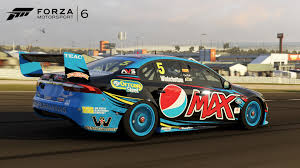 nissan altima australia v8 race down under with v8 supercars australia in the forza