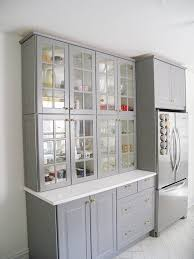 Small Kitchen Hutch Cabinets Best 25 Glass Cabinets Ideas On Pinterest Glass Kitchen