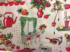 retro curtains ebay