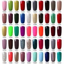 vishine gel polish nails pick any 5 colors soak off top base