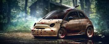 halloween cars horror movie characters would drive carwow