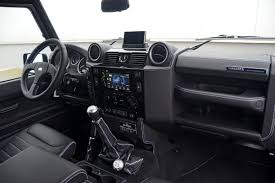 white land rover interior startech goes retro with land rover series 3 1 concept at the
