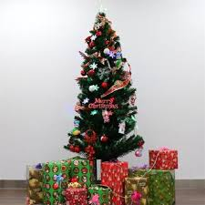 6ft christmas tree kinbor 6ft premium spruce hinged artificial christmas tree w 28