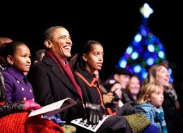 obama christmas card released first family celebrates holidays