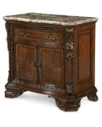 world stone top door nightstand