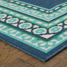 Teal Outdoor Rug Green Indoor Outdoor Rug Roselawnlutheran