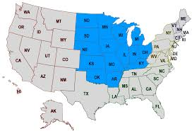 Map Of East Coast States 100 Us House District Map 4 Things Different In The Midwest