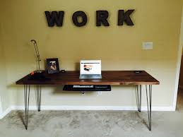 Build A Wood Desk Top by Building A Rustic Industrial Standing Desk Chaseadams Io