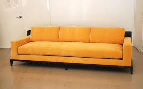 sofa without back classic design custom sofa with wood framed back