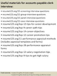 Accounts Payable Clerk Resume Sample by Top 8 Accounts Payable Clerk Resume Samples