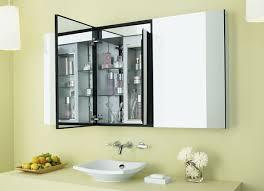 Unique  Bathroom With Medicine Cabinet On Modern Recessed - Recessed medicine cabinet contemporary
