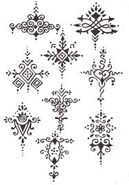 reminds me of printer s ornaments rococós hennas