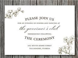 invitation wording 34 wedding invitation wording casual vizio wedding