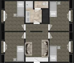 Colby College Floor Plans Ccc Living Center East
