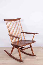 Knoll Rocking Chair George Nakashima Rocker For Sale At 1stdibs