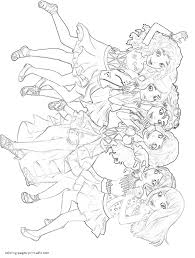 friends lego coloring pages girlz 4 life coloring pages