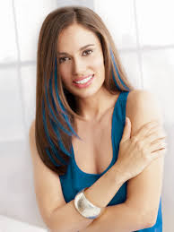 Daisy Fuentes Hair Extensions Reviews by Clip In Color Synthetic Hair Extensions By Put On Pieces