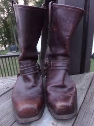 mens motorcycle boots brown 3u mens frye belted harness 13m 87250 motorcycle boots brown