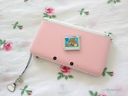 pink and white nintendo 3ds xl kingdom hearts