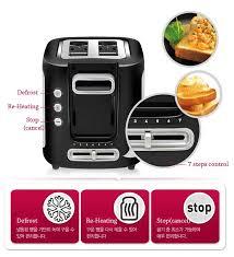 Tefal Sandwich Toaster Tefal Toaster 2 Slice Wide Slot Tt3670 Compact Defrost Re Heat