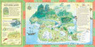 Book Map The Once Upon A Time Map Book Amazon Co Uk B G Hennessy