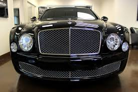 matte black bentley mulsanne used 2013 bentley mulsanne stock p2881a ultra luxury car from