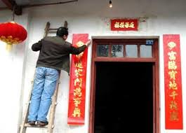 Door Decorating Ideas For New Year by Lunar New Year S Eve Cctv News Cntv English
