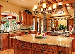 tuscan kitchen backsplash tuscan kitchen design ideas with chandeliers and backsplash 3297