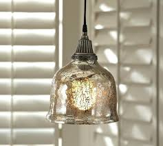 Crackle Glass Pendant Light Fantastic Mercury Glass Pendant Light Fixture Mercury Glass