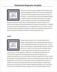 self autobiography sample 45 biography templates examples