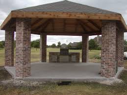 Covered Gazebos For Patios Rustic Backyard Pavilions Home Outdoor Decoration
