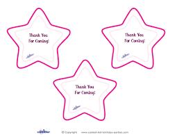 printable thank you cards princess princess