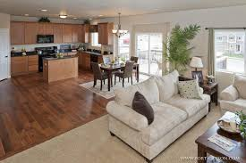 appealing open floor plan kitchen family room 58 in decoration