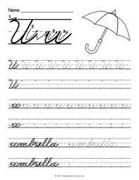 cursive c cursive handwriting practice worksheets and worksheets