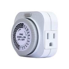 electrical outlet timers ebay